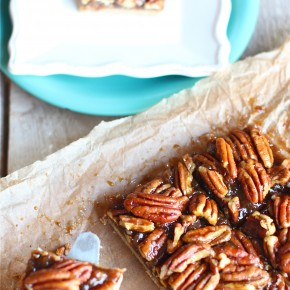 love-fed.com pecan pie bars raw vegan