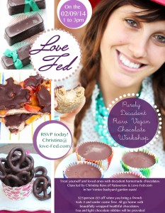 Raw Vegan Chocolate Workshop with Christina Ross
