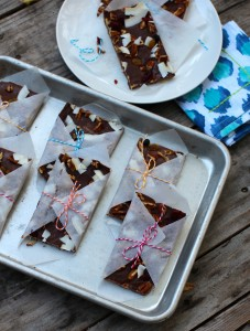 Double Chocolate Trail Mix Bars