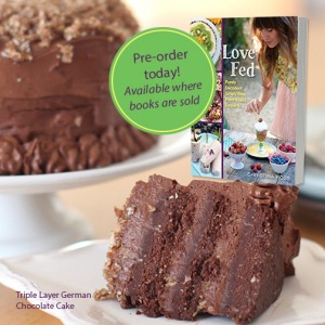 love fed cookbook by christina ross raw vegan desserts