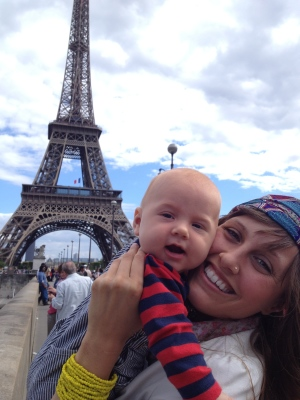 baby in paris