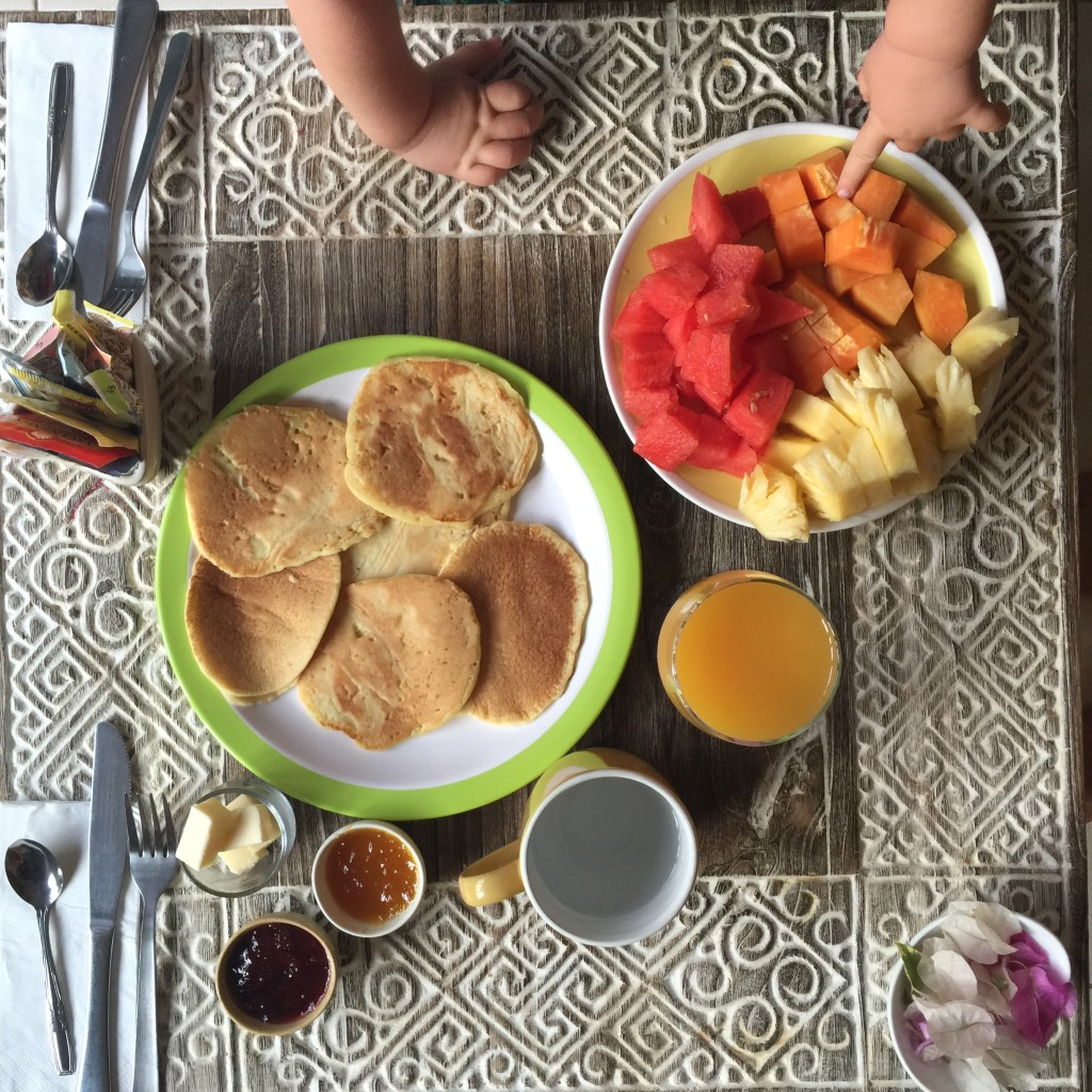 breakfast spread sanur
