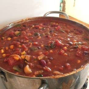 vegan chili recipe love-fed.com