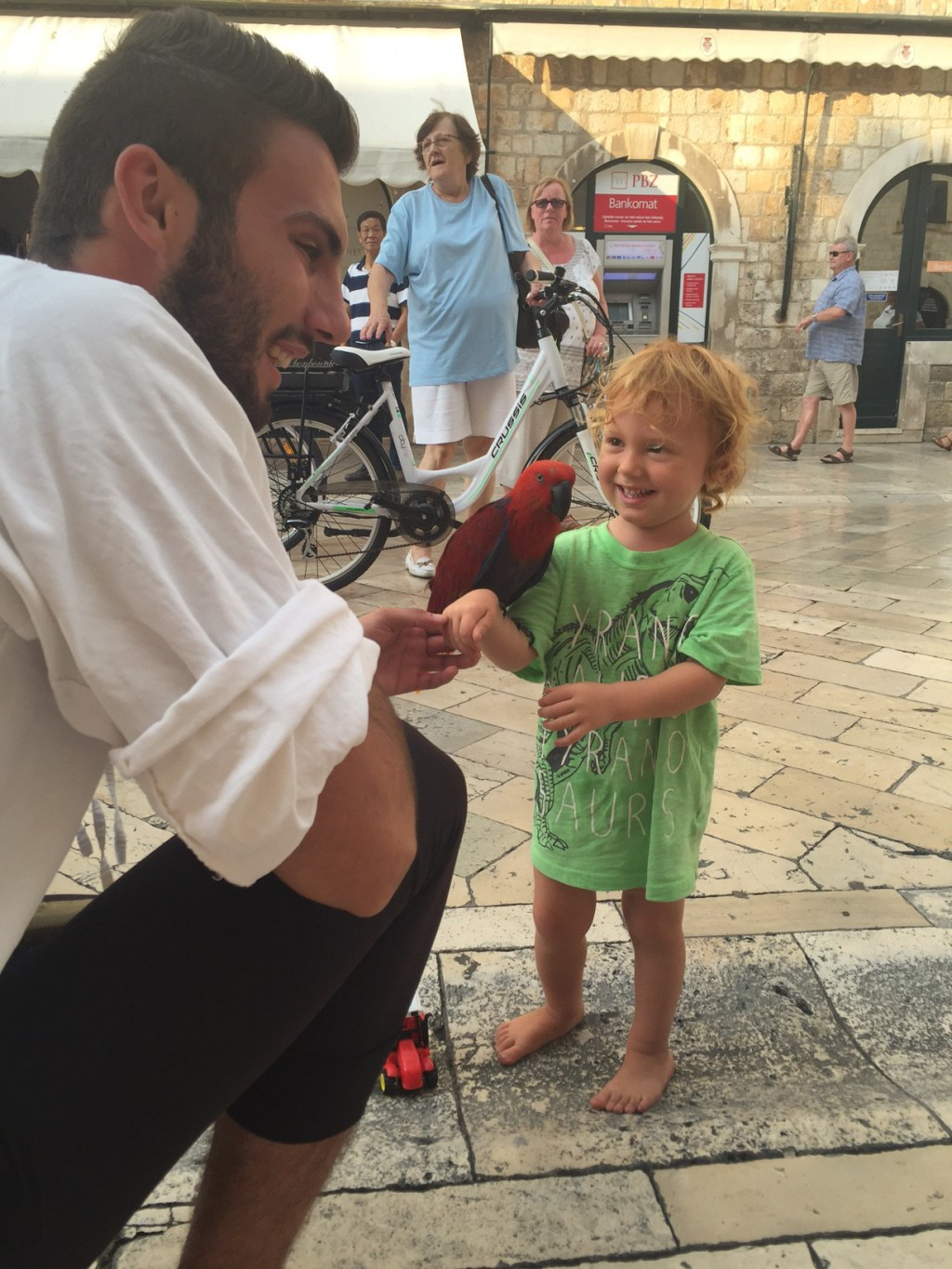 dubrovnik croatia with toddler