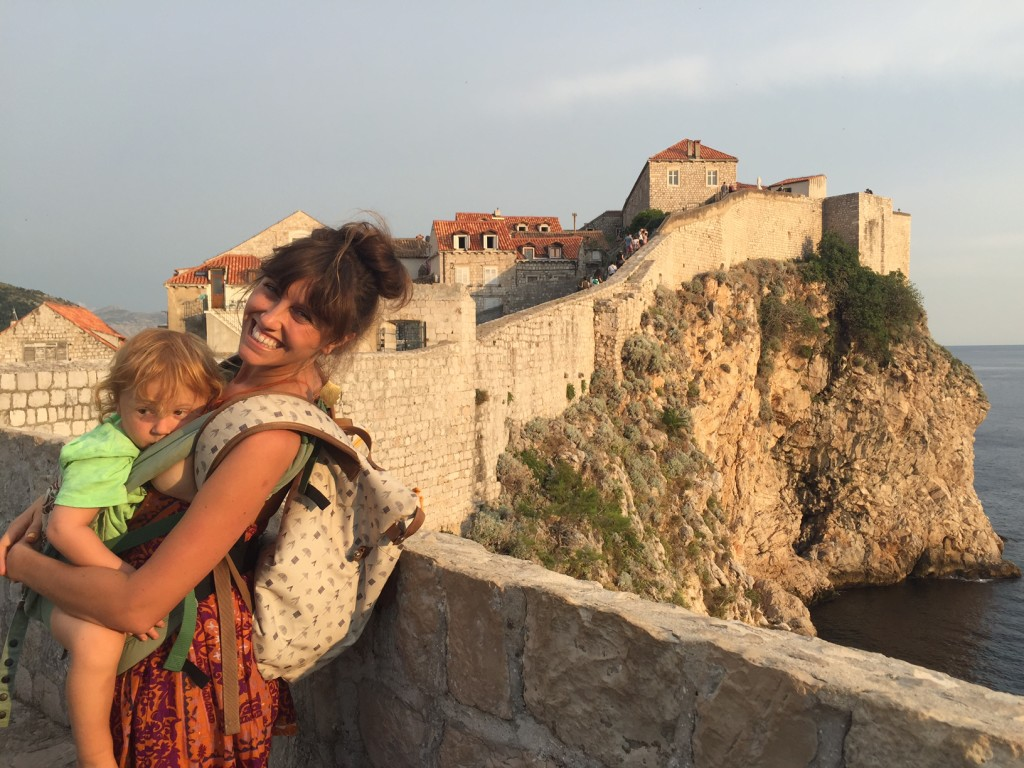 dubrovnik travel with toddler