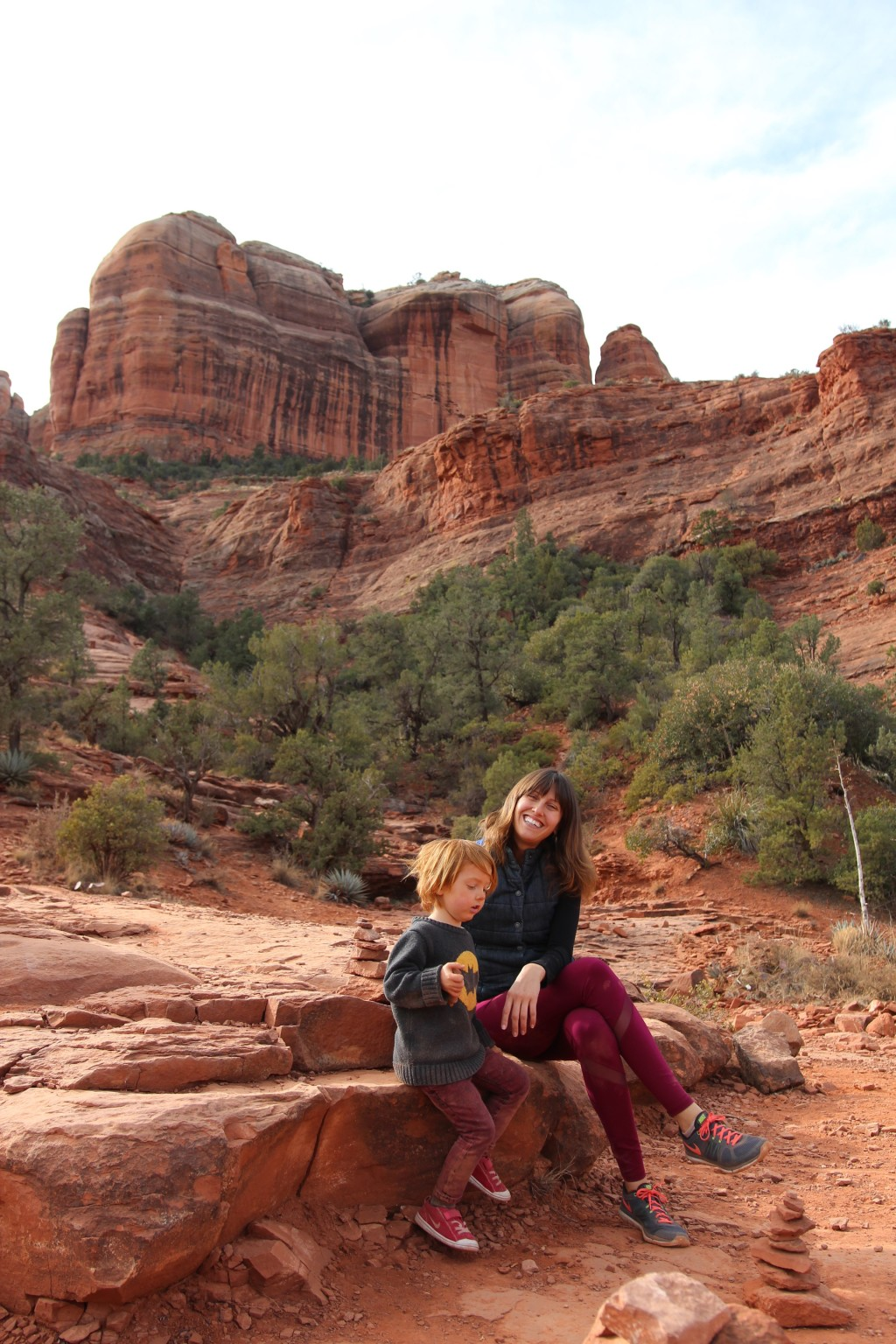 Sedona Cathedral Rock Hike with Toddler love-fed.com